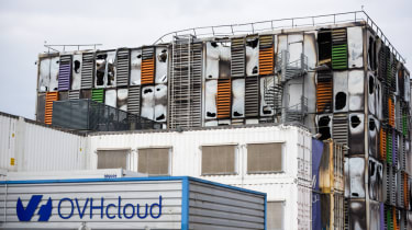 The SGB2 facility in Strasbourg damaged by fire