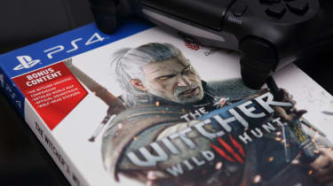 The Witcher Wild Hunt 3 game on PS4 Console