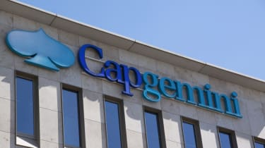 Capgemini sign on the outside of a building