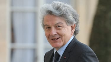 French internal markets commissioner, Thierry Breton