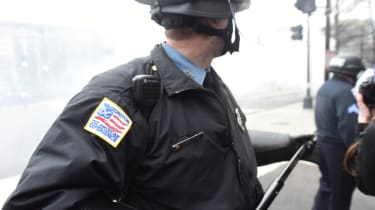 A Washington DC police officer