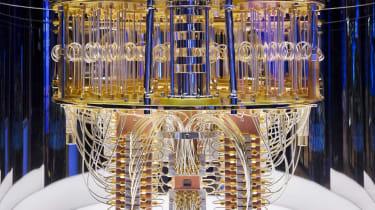 IBM's Quantum Chandelier, its quantum computer