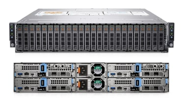 Dell EMC PowerEdge C6520 front and rear