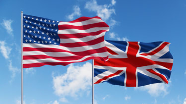 Uk and USA flags on a blue sky background.The UK and US have announced a new partnership which will focus on strengthening the countries' collaboration in the development of emerging technologies, following US president Joe Biden's visit to the UK.  This