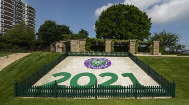 A lawn with Wimbledon 2021