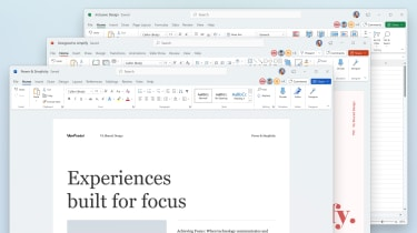 The refreshed design of Office 365