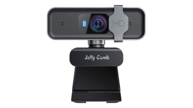 A photograph of the Jelly Comb W10 1080p HD Webcam Pro