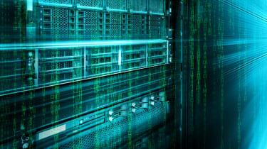 Blade storage supercomputer of data centre with binary code matrix