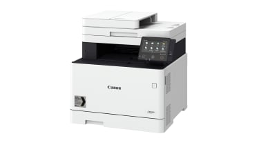 A photograph of the Canon i-Sensys MF744Cdw
