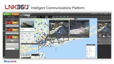 Screenshot of the LNK360 platform