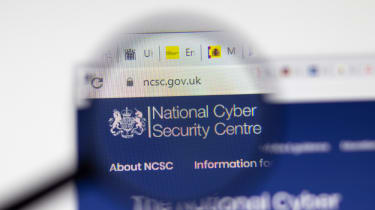 The NCSC website under a magnifying glass