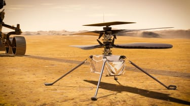 The Mars helicopter Ingenuity