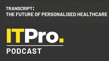 Podcast transcript: The future of personalised healthcare