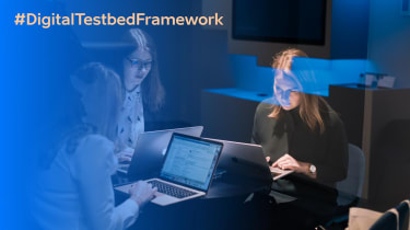 Estonia's Digital Testbed Framework branding