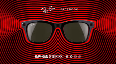 Promotional image of Facebook Ray-Ban Stories smart glasses