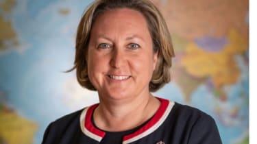 The UK's International Trade Minister Anne Marie Trevelyan