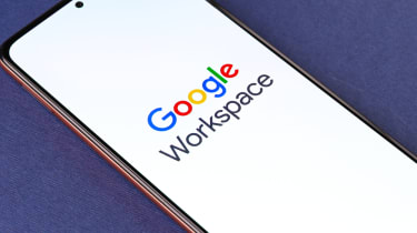 Google's Workspace suite on a smartphone