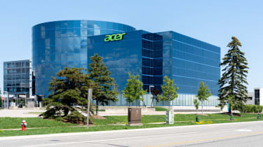 A view of Acer's headquarters in Ontario, Canada