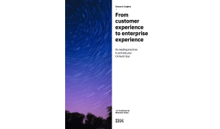 How to improve customer experience - whitepaper from IBM