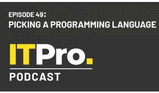 Title card: Picking a programming language