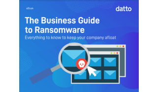 The business guide to ransomware - whitepaper from Datto