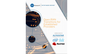 how to transition to open RAN - radio access network