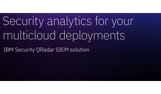 Security analytics for your multi-cloud deployments - whitepaper from IBM
