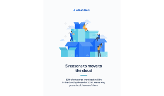 Five reasons to migrate to the cloud - whitepaper from Atlassian