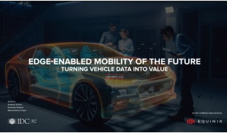 How to turn vehicle data into value - whitepaper from Equinix