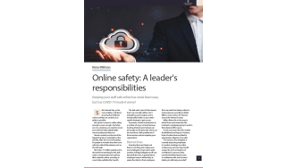 Online safety: A leader's responsibilities - The Business Briefing from IT Pro