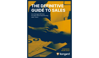 How MSPs build outperforming sales teams - whitepaper from Liongard