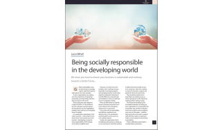 Being socially responsible in the developing world