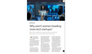 The Business Briefing Issue 49 - Why aren't more women heading tech startups? - IT Pro