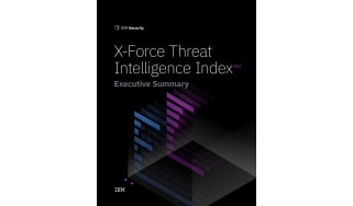 X Force threat intelligence index