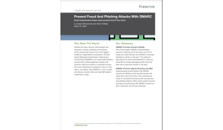 Prevent fraud and phishing attacks with DMARC - whitepaper from Mimecast