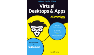 Virtual desktops and apps for dummies - whitepaper from Nutanix