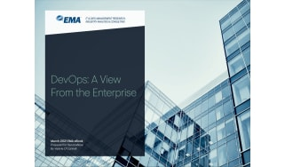 High-rise buildings in the background of title card - whitepaper from ServiceNow
