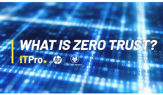 What is Zero Trust video title card
