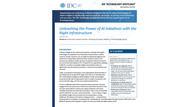 What key infrastructure requirements are needed to implement AI effectively?