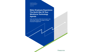 Make Employee Experience the North Star of your workforce technology agenda - whitepaper from Dell