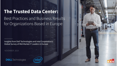 Data centre best practices and business results for organisations based in Europe - whitepaper from Dell