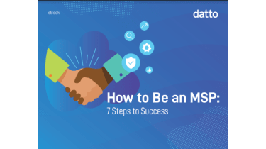 How to be an MSP: Seven steps to success - whitepaper from Datto