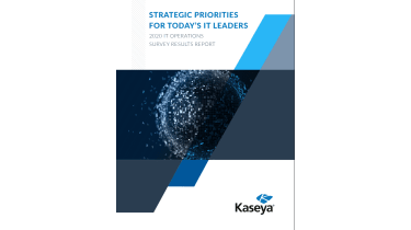strategic priorities for today's IT leaders - survey results report - whitepaper