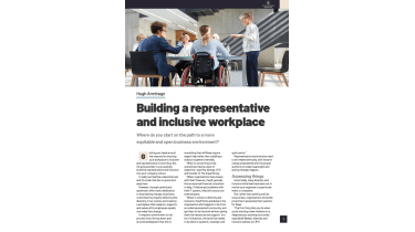 How to build a representative and inclusive workplace