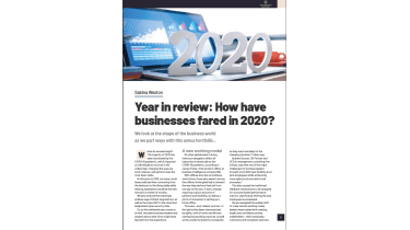 How have businesses fared in 2020 - impacts of coronavirus on businesses