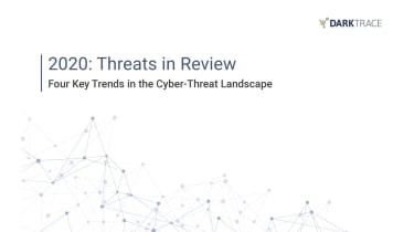 Four key trends in the cyber-threat landscape - whitepaper from DarkTrace
