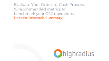 How to evaluate your order-to-cash process - whitepaper from HighRadius