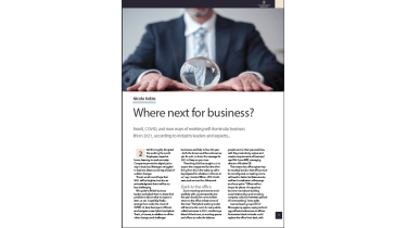 What will business look like in 2021