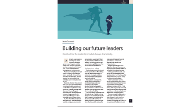 How to build our future leaders - IT Pro - The Business Briefing