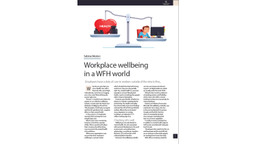 How to promote workplace wellbeing in a work-from-home world - The Business Briefing